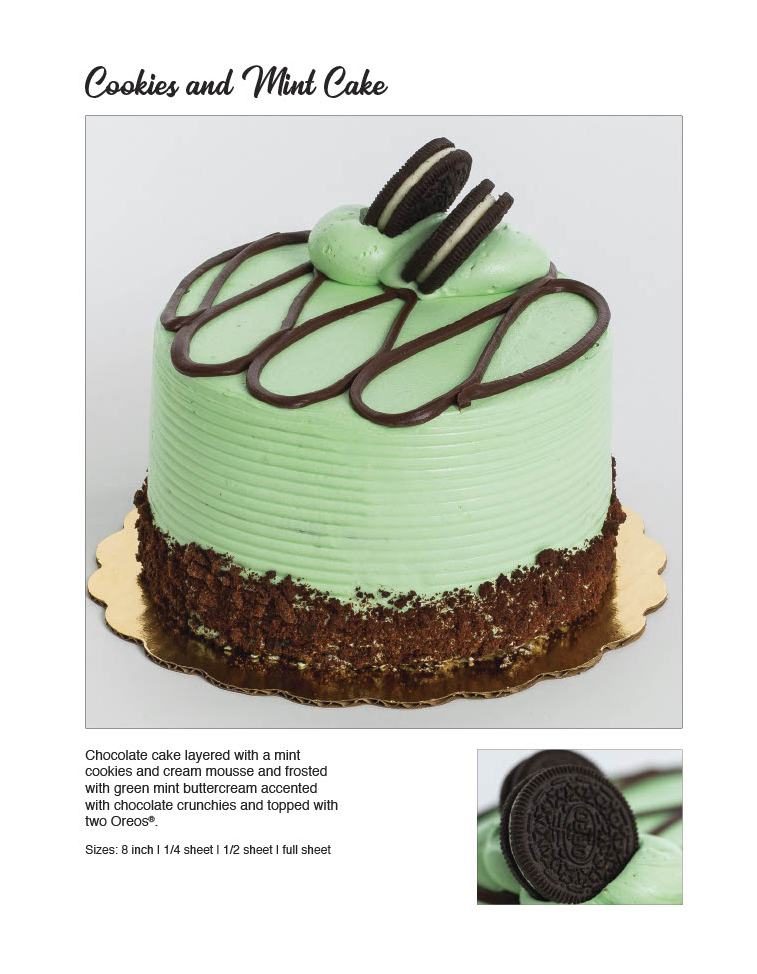 Cookies and Mint Cake