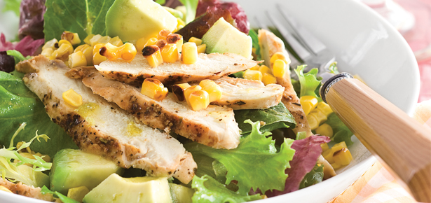 Chicken, Avocado and Corn Salad