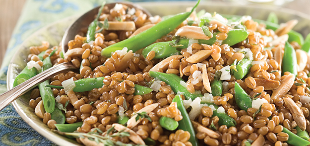 Grains and Green Bean Salad